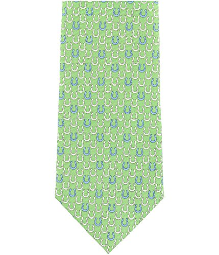 Tommy Hilfiger Mens Horseshoe Necktie Green One Size from Tommy Hilfiger