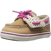 Sperry Top-Sider Kids Baby Girl's Intrepid Crib Jr. (Infant/Toddler) Linen/Fuchsia Shoe