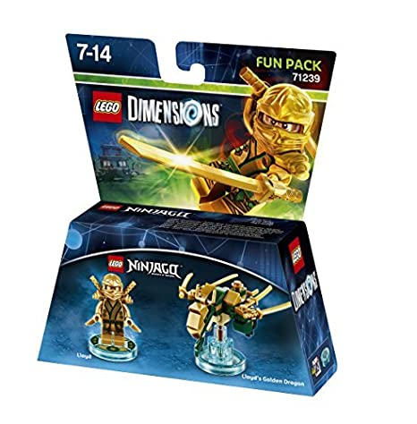Lego Dimensions: Fun Pack Lloyd (Gold Ninja) by Warner Bros ...