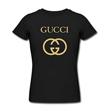 efe89423 Womens Gucci Inspired Design T-Shirt at Amazon Women's Clothing store: