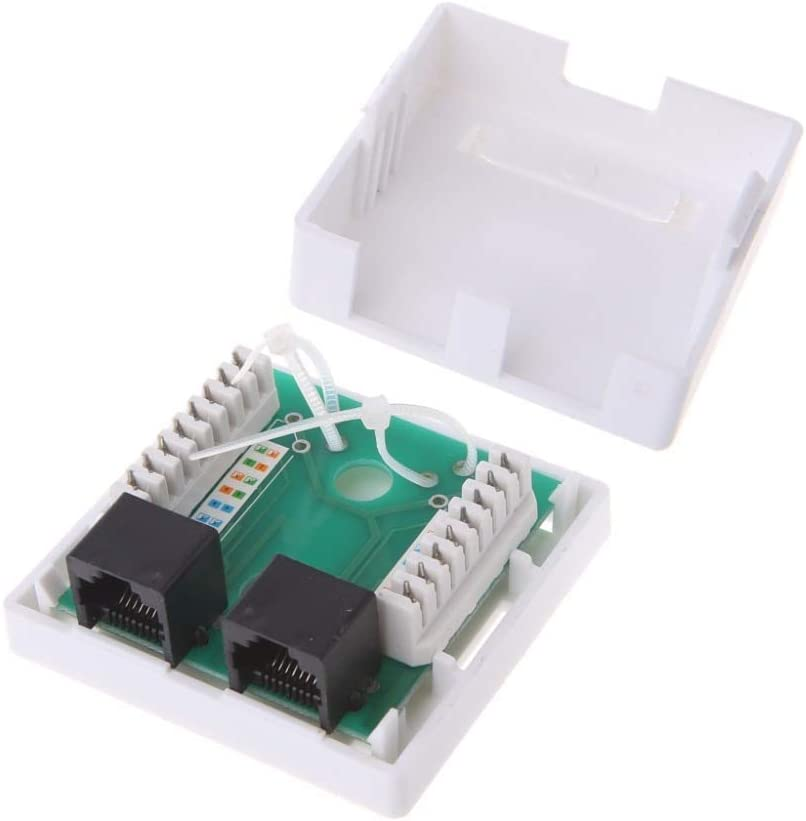 ShineBear Cable RJ45 Adapter Network Ethernet LAN Coupler Connector CAT 5 5E Extender Plug Cable Length: Other