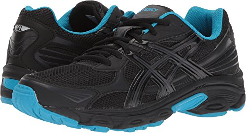 ASICS Gel Vanisher Women's Running Shoes Black/Phantom/Island Blue t75bq-9016 (9.5 B(M) US)