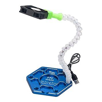 Morza RJX1739 Ayudar a Manos de Brazos Tercera Mano para soldar Brazos Flexibles con Ventilador USB: Amazon.es: Hogar