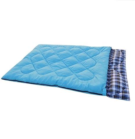 Sweety Bolsas de Dormir Pareja al Aire Libre Saco de Dormir Desmontable cinturón Almohada Camping Bolsa