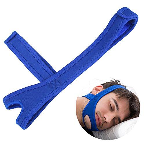Stop Snoring Anti Snore Sleep Apnea Cure Device (Blue) - 3
