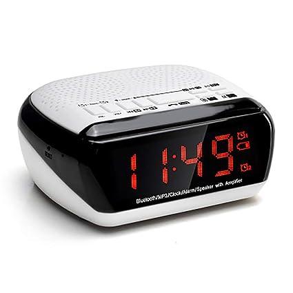 Amazon.com: XXLYY Portable LED Bluetooth Speaker, FM Radio ...