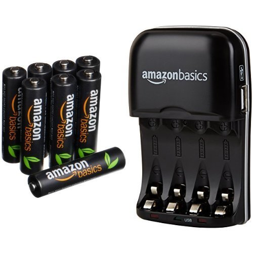 AmazonBasics High Capacity Rechargeable Batteries Battery