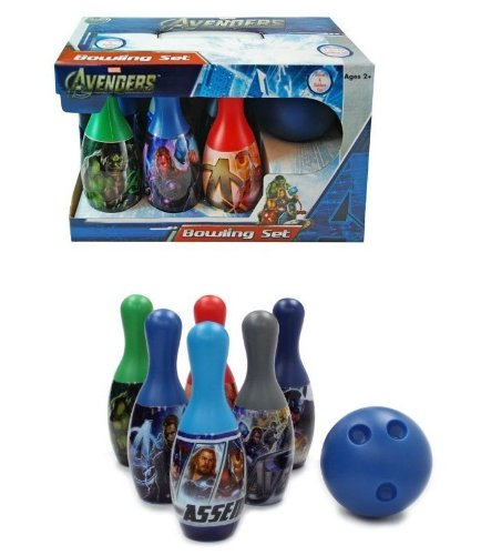 New Avengers Bowling Set for Boys