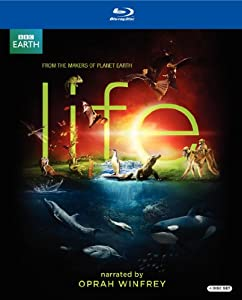 Cover Image for 'Life (Narrated By Oprah Winfrey Blu-Ray)'