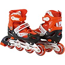 Kids Adjustable Inline Skates Roller Blade Scale Sports Outdoor Durable Perfect First Skates
