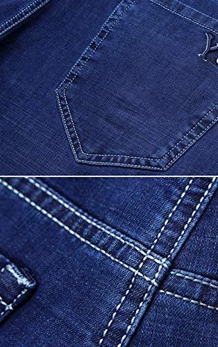 Pantaloni Huixin Ufige Skin Morbidi Slim Confortevole friendly I Estate Elastici Giovani Blau Skinny All'aperto Jeans Uomini Traspirante p6RrRWcv