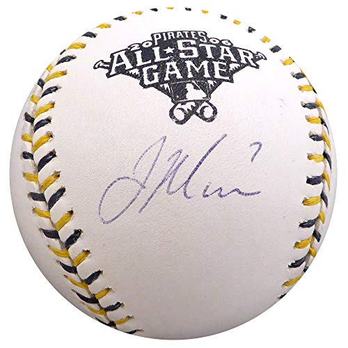 Joe Mauer Autographed Signed Memorabilia Official 2006 All Star Game Baseball Minnesota Twins MLB Holo #Bb830748 - Certified Authentic