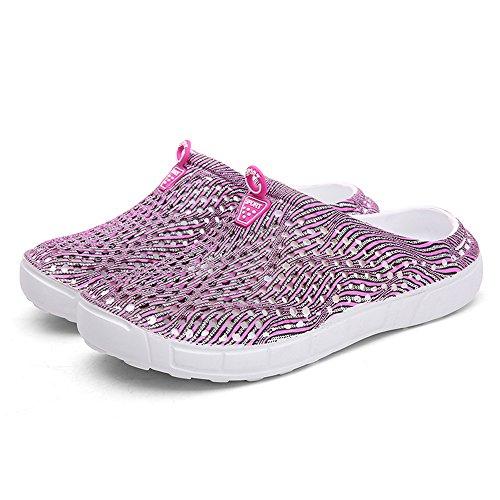 Pink Séchage Rapide Garden Water Chaussures Shoes Sandales Unisexes Summer Pantoufles Waterweight 1619 à FZDX f4YX7qZ7
