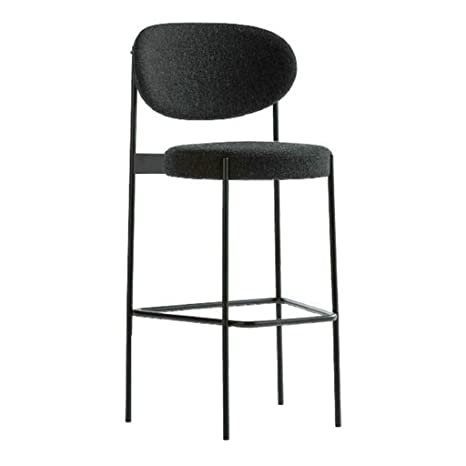 Sensational Amazon Com Hoho Bar Stool Tufted Fabric Barstools Dining Cjindustries Chair Design For Home Cjindustriesco
