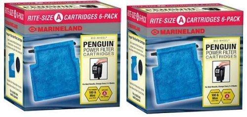 Marineland 12-Pack Penguin Rite Water Filter Cartridge, Size A