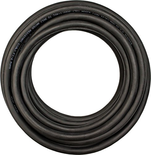 Cerrowire 283-4204C 100-Feet 6/4 SOOW Rubber Flexible Extra Heavy Duty Cord, Black by Cerrowire