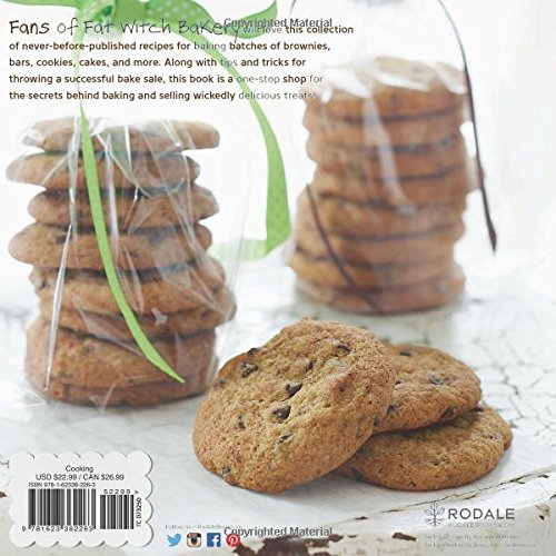 fat witch bake sale 67 recipes from the beloved fat witch bakery for your next bake sale or party fat witch baking cookbooks patricia helding