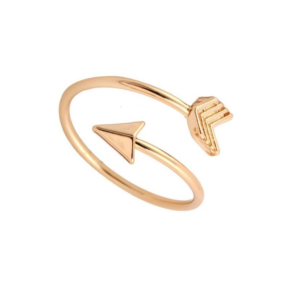 Graduate Gift Travel Ring Toe Ring Travel Ring Toe Ring Journey Isola /& Co Arrow Rings Graduation Ring Inspirational Ring Brass-Plated-Gold Nautical Ring