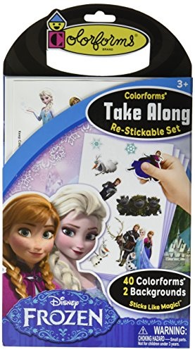 Colorforms Brand Frozen Restickable Stickable product image