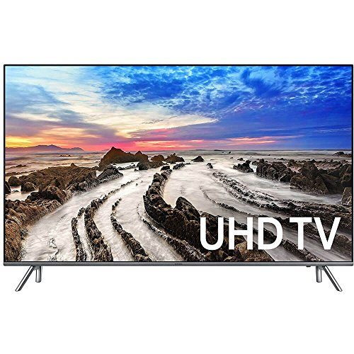Samsung Electronics UN55MU8000 55-Inch 4K Ultra HD Smart LED TV (2017 Model) (Led Tv Samsung)