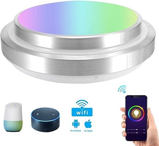 SXFYHXY Lámpara de Techo de luz Inteligente con Control Remoto ...