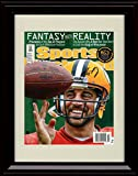 Framed Aaron Rodgers Sports Illustrated Autograph Replica Print - 2013 Pre Season
