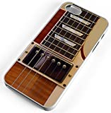 iPhone Case Fits Apple iPhone 8 PLUS 8+ Electric Guitar Garage Band White Plastic