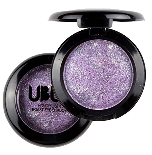 UBUB Single Baked Eye Shadow Powder Palette Shimmer Metallic Eyeshadow Palette By DMZing (UB-04) (4 Pan Palette)
