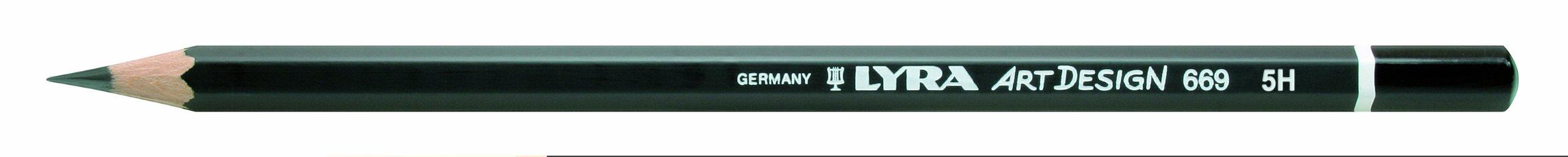 LYRA Rembrandt Art Design Drawing Pencil, 5H Lead, 1 Pencil (1110115)
