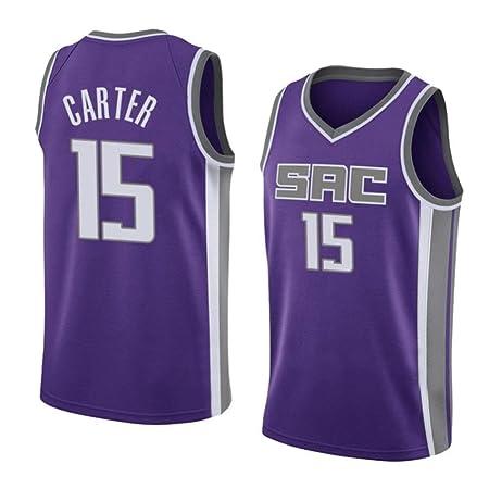 AKCHIUY Camiseta De Baloncesto para Hombre # 15 Camiseta De ...