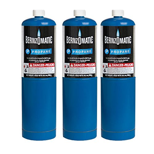 (Standard Propane Fuel Cylinder - Pack of 3)
