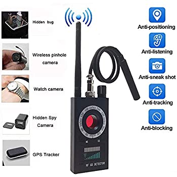 Amazon.com: Anti Spy Detector & Camera Finder RF Signal ...