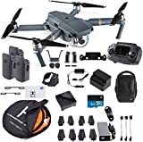 Photo : DJI Mavic Pro Fly More Combo Collapsible Quadcopter Safety Bundle: 3 Batteries, Landing Pad, Charging Hub and More
