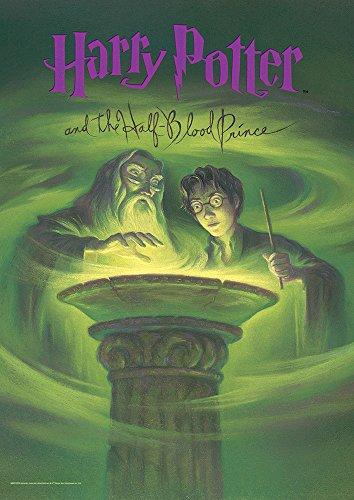 MightyPrint Harry Potter (Book Cover - Half-Blood Prince) Wall Art Next Generation Premium Print
