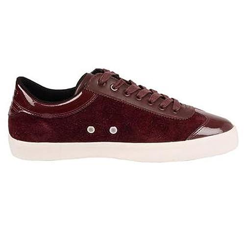 Cruyff - Zapatillas de Ante para hombre morado Oxblood Santi, color morado, talla 44 EU: Amazon.es: Zapatos y complementos
