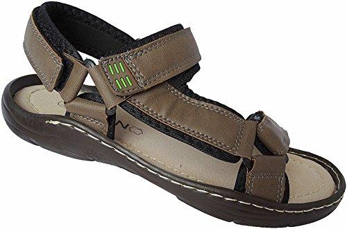 Herren Sandalette Outdoorsandale Schuhe Trekking Sandale gr.41 - 46 nr.9325 khaki