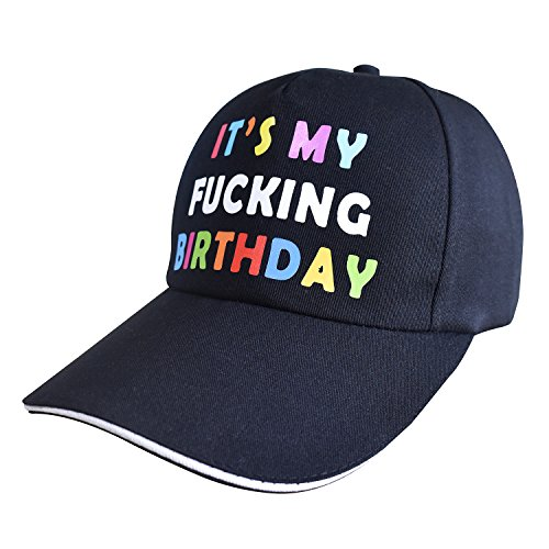 Funny Birthday Trucker Hat, Birthday Gift. Black