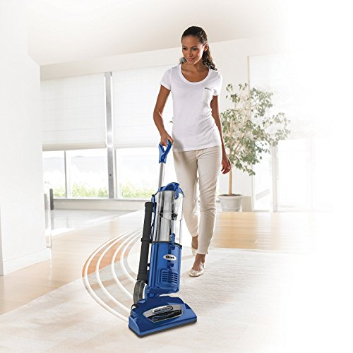 Shark Navigator Swivel Plus Upright Vacuum Blue Nv46ref