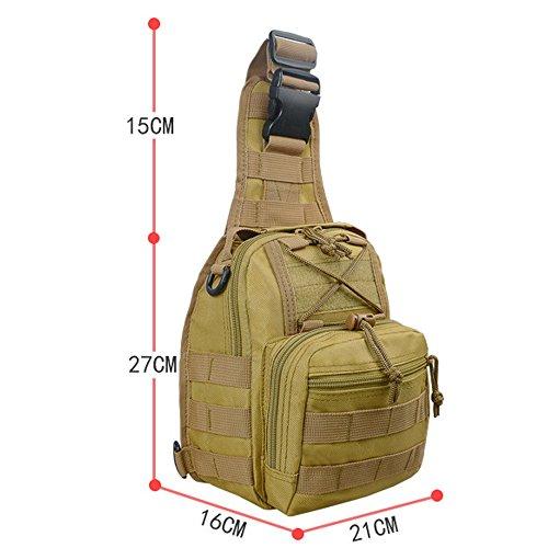 per Xuanbao multiuso tracolla Trekking Pettorina Bag Borse Camping triangolo Sling Borse caccia Outdoor Pack Zaino la tracolla Backpack a a 7r7xq1p