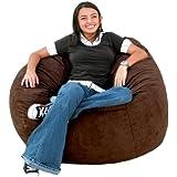 Cozy Sack 3-Feet Bean Bag Chair, Medium, Chocolate