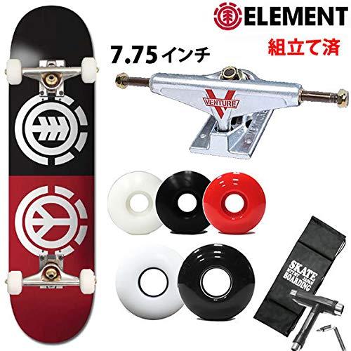 ELEMENT(エレメント) element スケボーコンプリート 完成品 エレメント ベンチャートラックセット PEACE LOGO 7.75X31.7インチ AI027-169 AI027-169 element スケートボード 完成品 B07QHFN7ZT ベンチャー5.0LOW|ソフト56mmホワイト ソフト56mmホワイト ベンチャー5.0LOW, 野々市町:99c4df9c --- krianta.ru