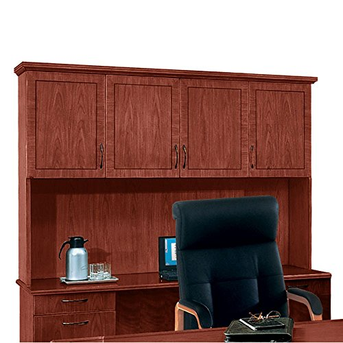 Standard Hutch w/ Moulding Brown Cherry Dimensions: 74.5''W x 15''D x 50''H Weight: 275 lbs by DMI Furniture