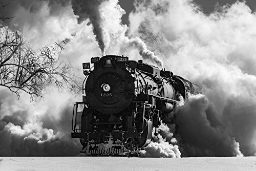 Pere Marquette Steam Locomotive #3