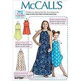 Kwik Sew Childrens Sewing Pattern 0143 Girls Summer Dresses KwikSew-0143