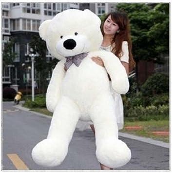 YunNasi Gigante Teddy Oso de Peluche Animal de Felpa (Blanco, 47in)
