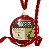 Christmas Decoration National US Forest Hoosier National Forest Ornament