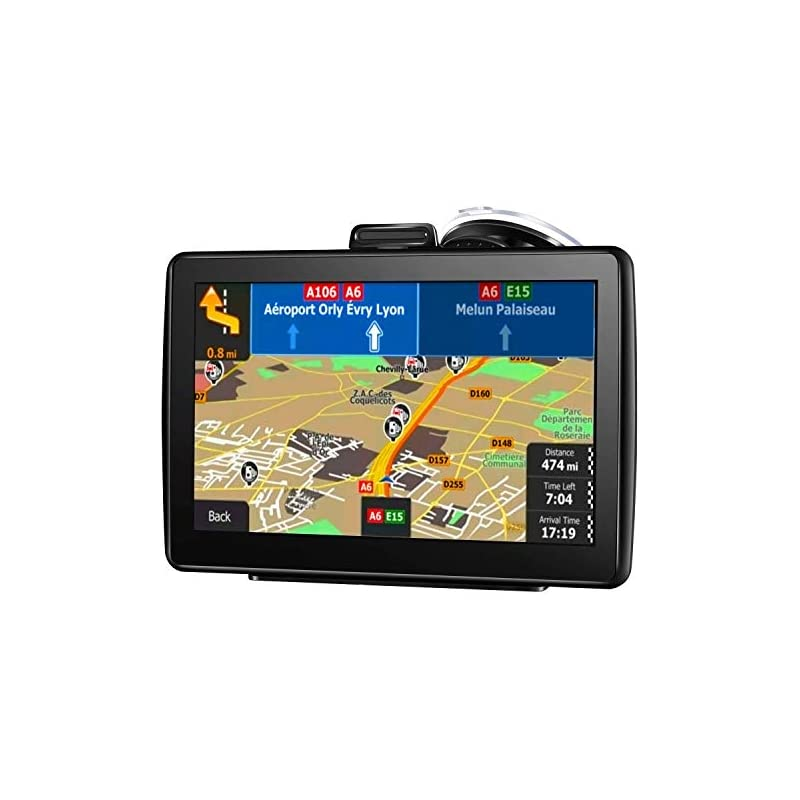 car GPS Navigation 2018 Updated 7-inch T