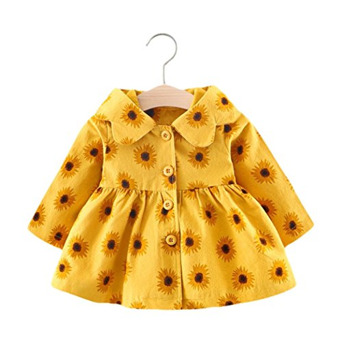Baby Girl Cotton Autumn Winter Warm Coat Cloak Jacket Clothes - 2
