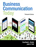 Book Cover for Business Communication Today (13th Edition) (Foundations of Modern Biology)