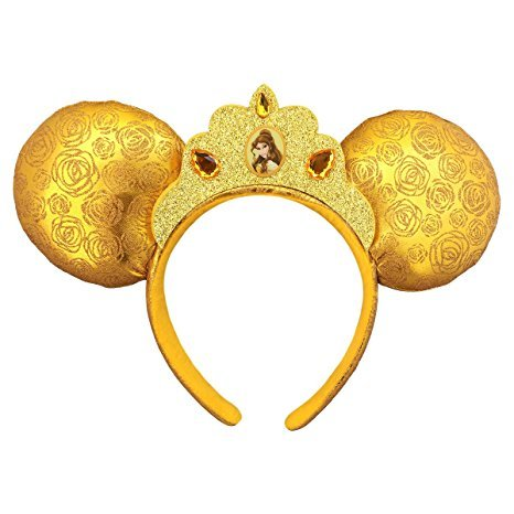 Price comparison product image Disney Belle Headband Mouse Ears Theme Parks New